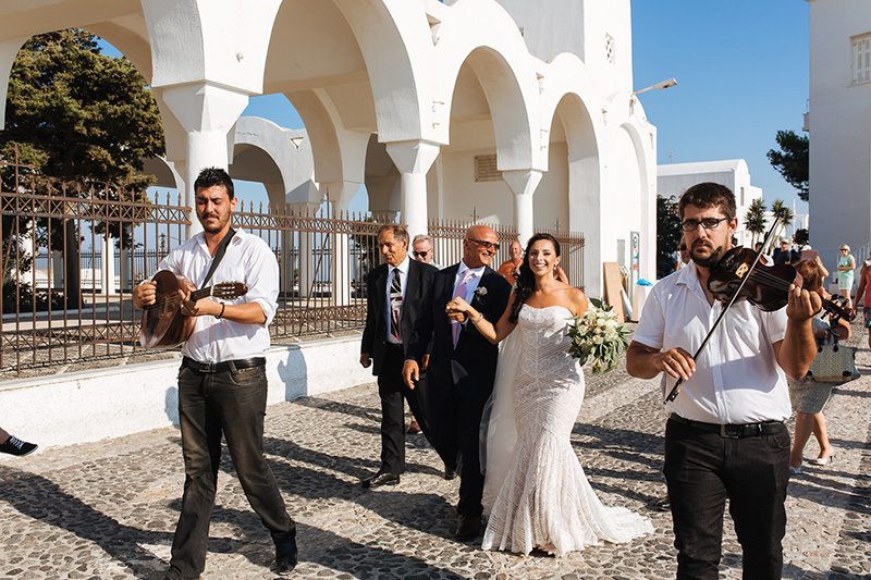 Traditional Greek wedding