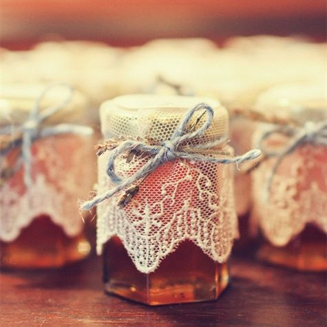 Honey Favor For Santorini Wedding