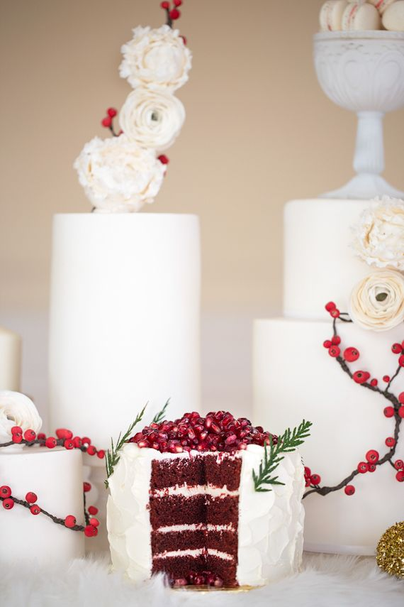 Christmas Decor Inspiration Tie the Knot in Santorini ...