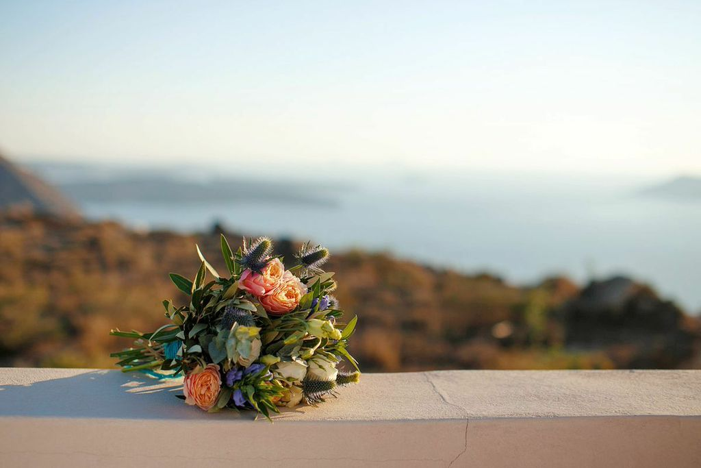 Grecian Wedding in Santorini