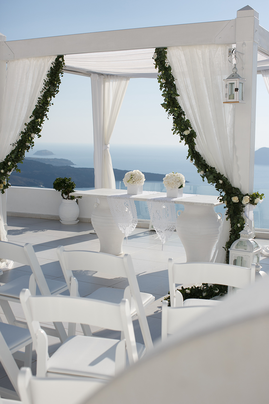 Destination wedding in Greece