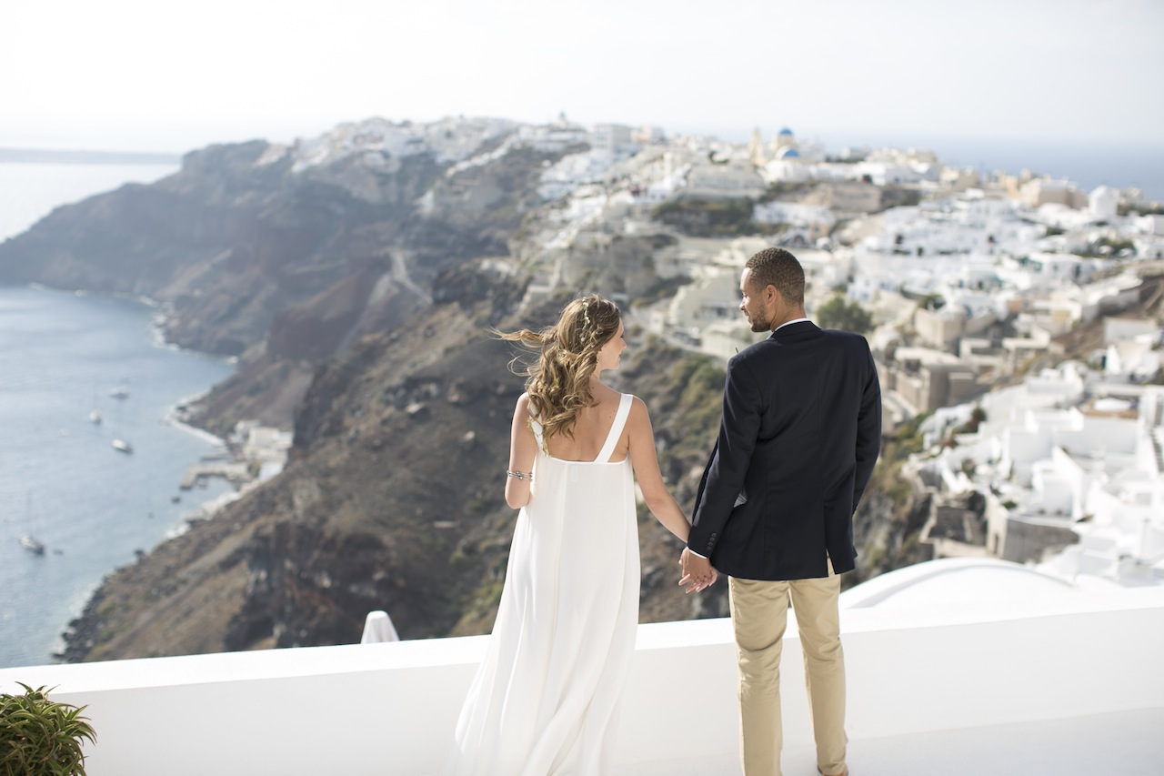 Wedding in Santorini-Tie the Knot in Santorini