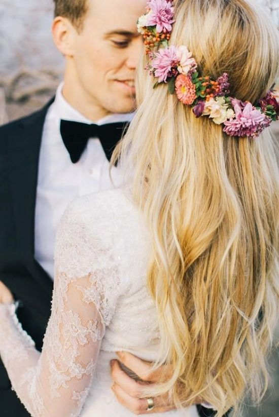 Flower Crowns- Tie the knot in Santorini