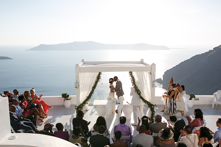 Destination wedding in Greece- Tie the Knot in Santorini