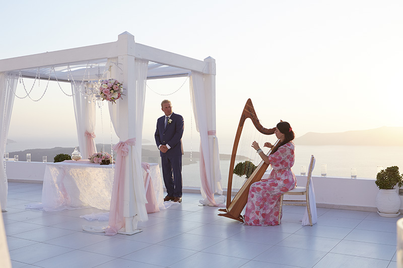 Santorini wedding- Dana Villas