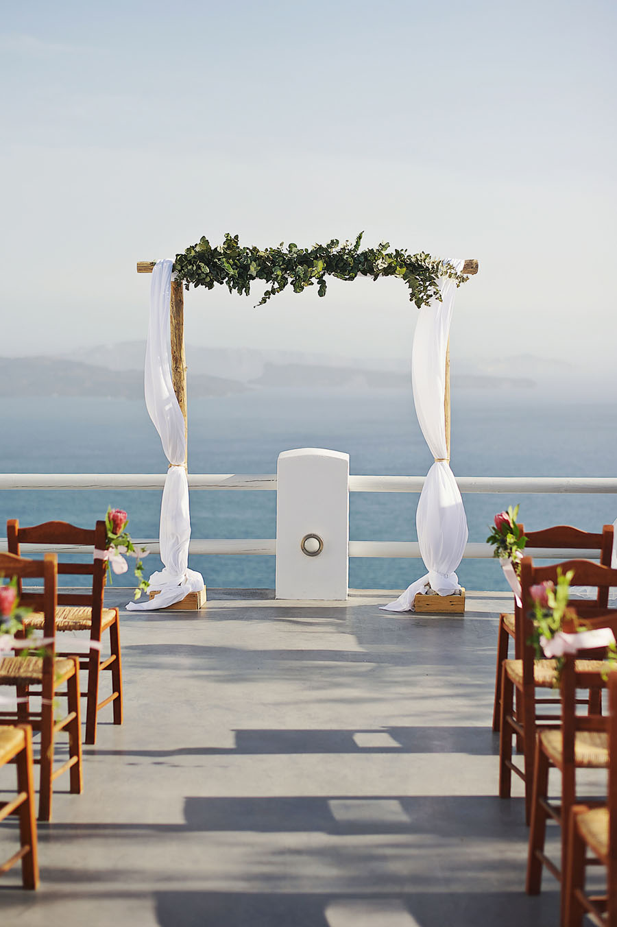 Wedding altar- wedding in Greece