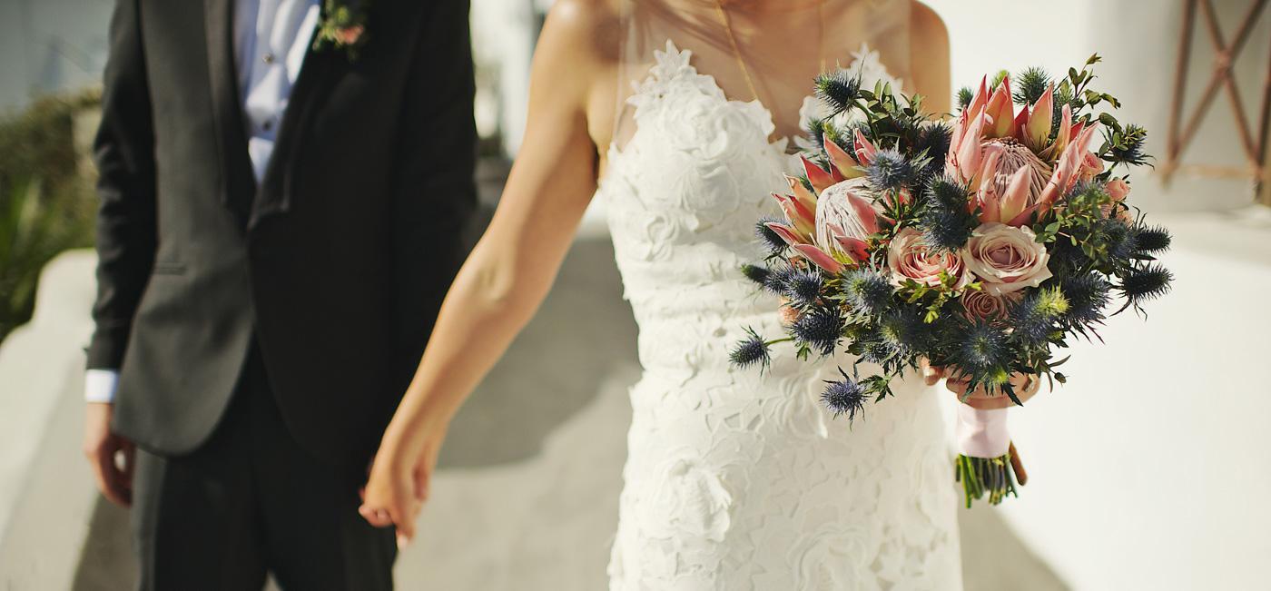 Santorini weddings - contact us
