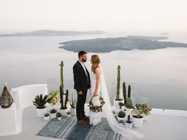 Cacti wedding in Greece