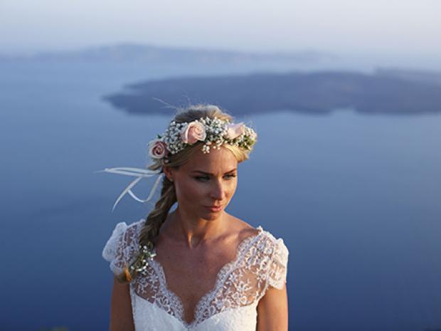 Kelly & Tony - Greek Island wedding