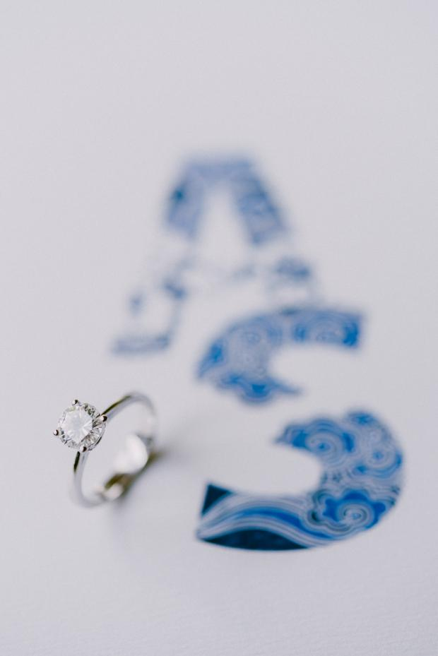 Wedding ring and Stationery