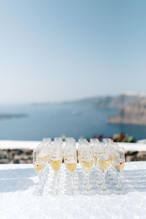 Cocktail hour - Wedding in Greece