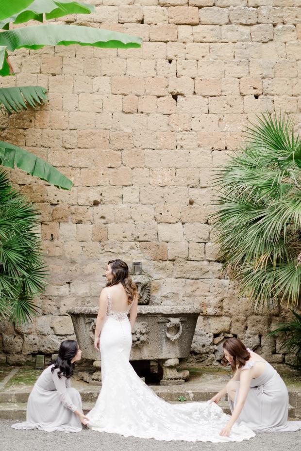 Wedding in Italy-Bridesmaids
