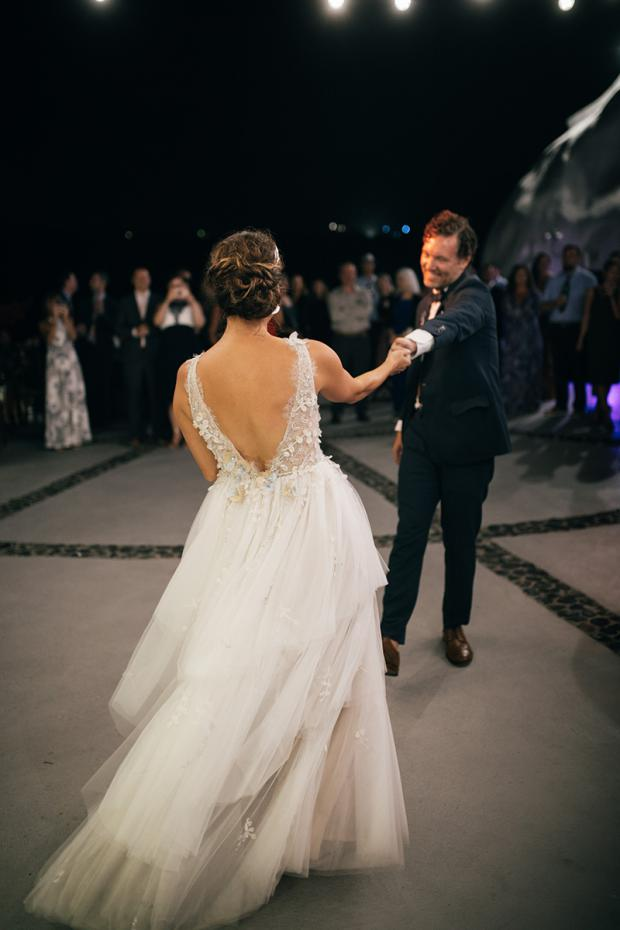 First dance - wedding in Greece