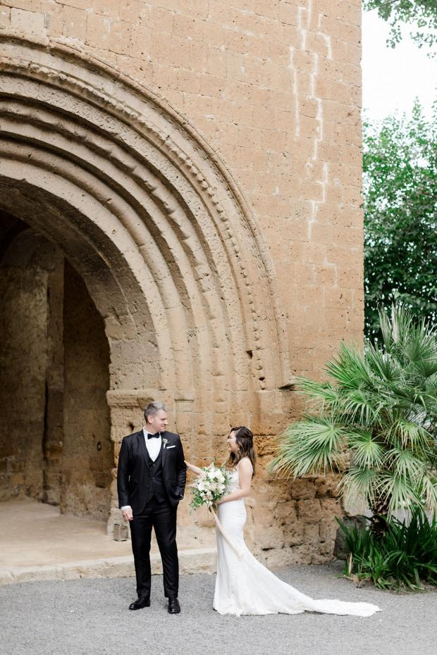 Italy wedding - First look