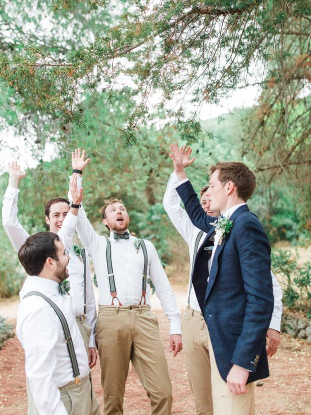 Wedding moments- Groomsmen
