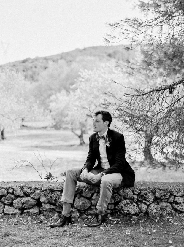 Kefalonia wedding- Groom
