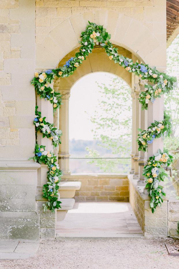 Wedding ceremony decoration - Tuscany wedding