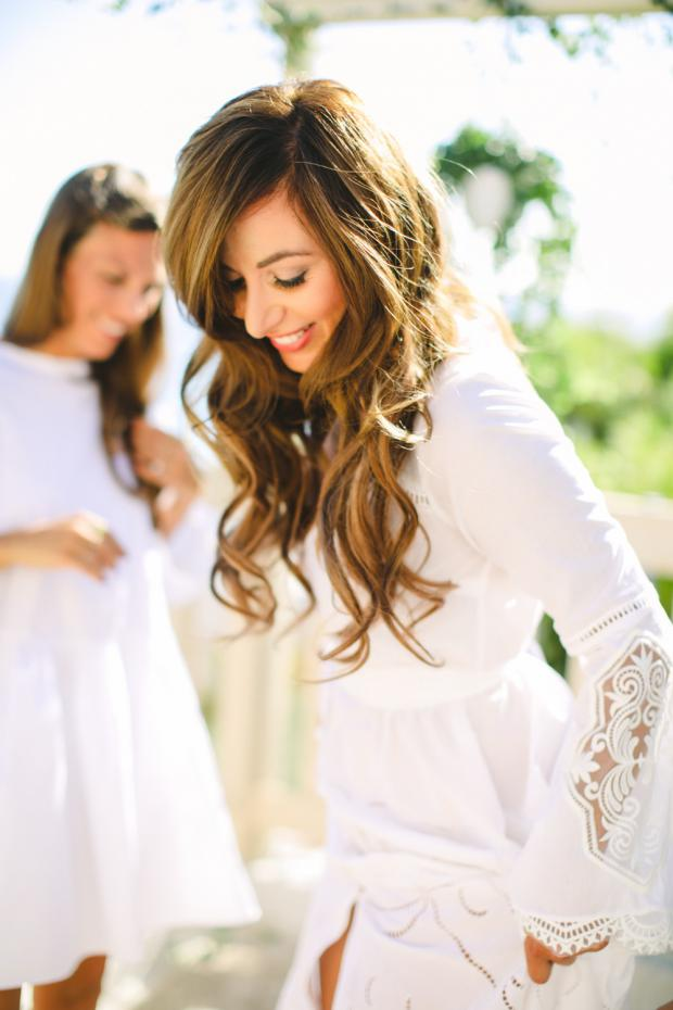 Bridal preparations - bohemian wedding in Greece