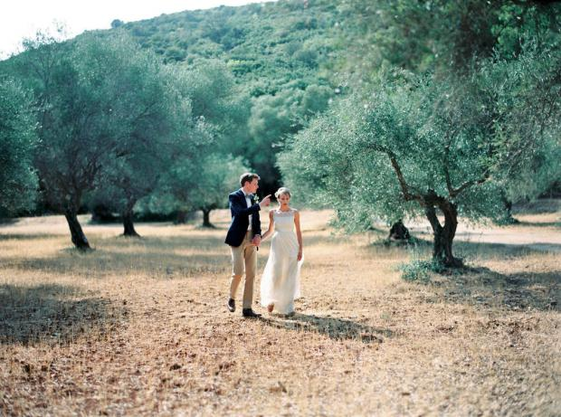 Wedding at the Ionian islands Greece