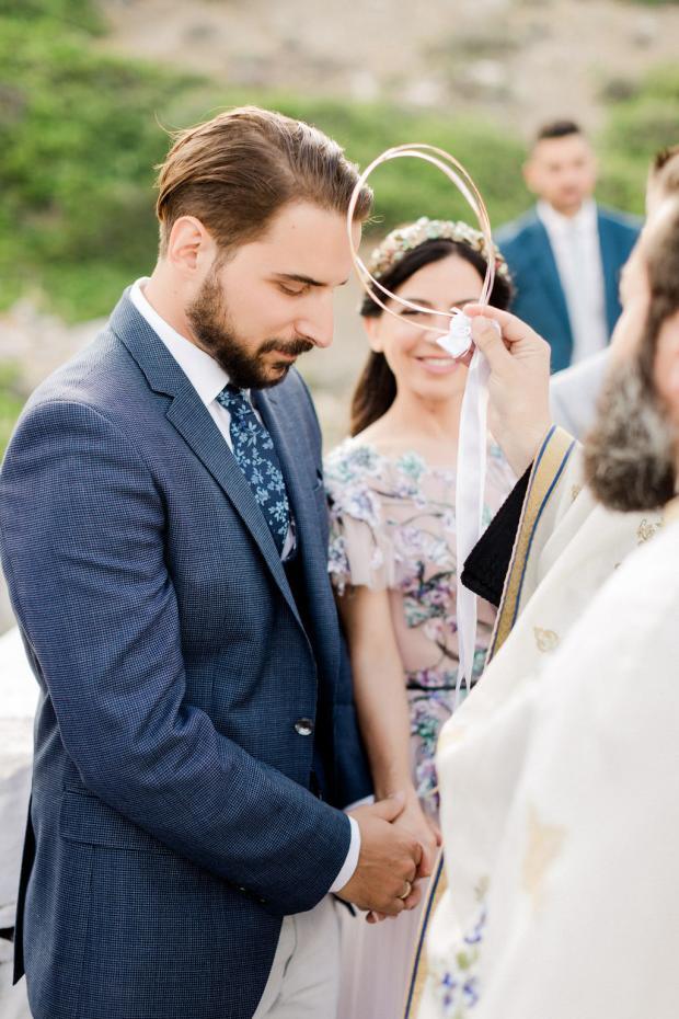 Chapel  wedding in Amorgos Greece