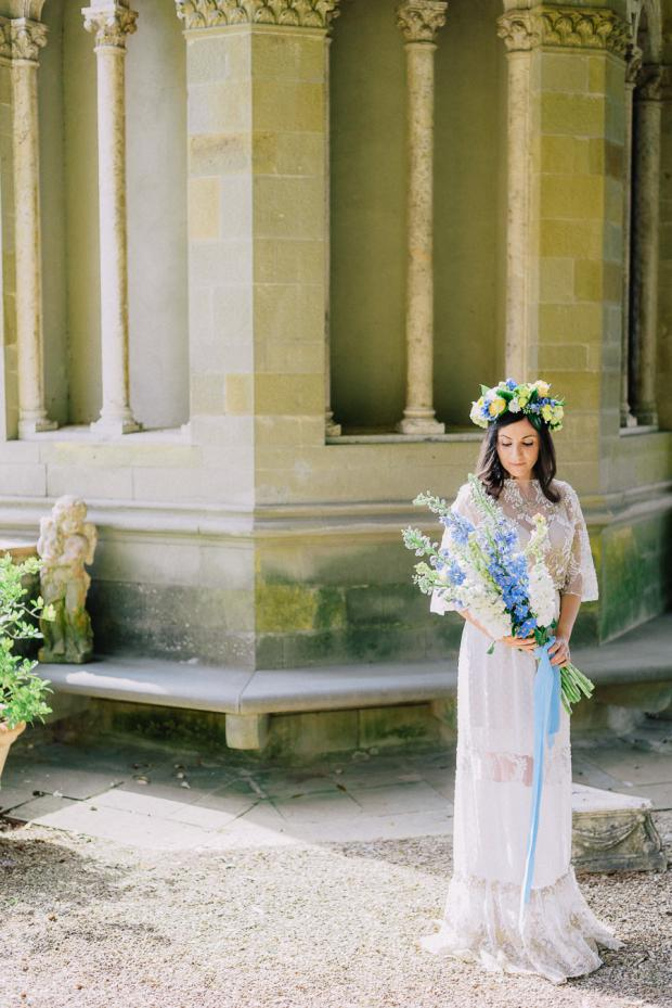 Wedding in Tuscany- Bridal bouquet