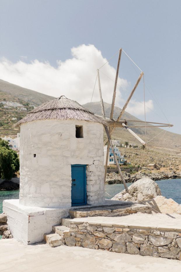 Wedding in Amorgos Greece