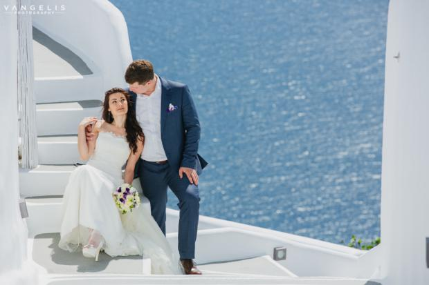 Wedding in Santorini-Oia