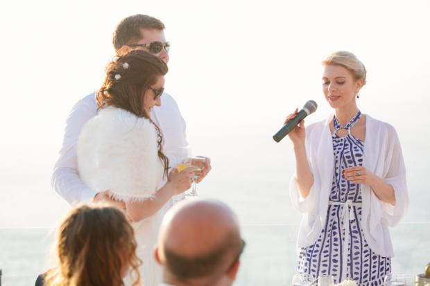 Wedding in Santorini-wedding moments