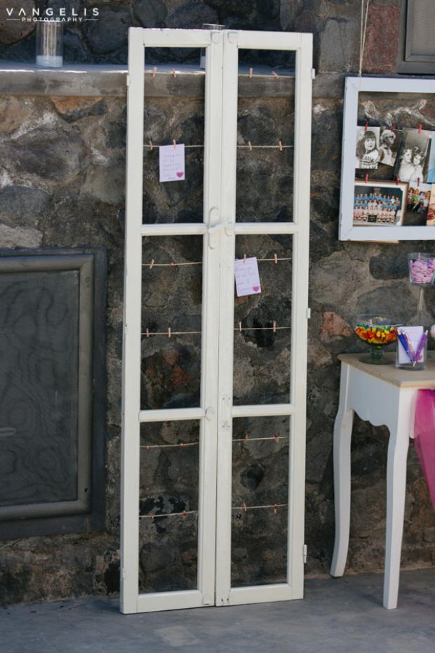 Santorini Wedding- guest wishes
