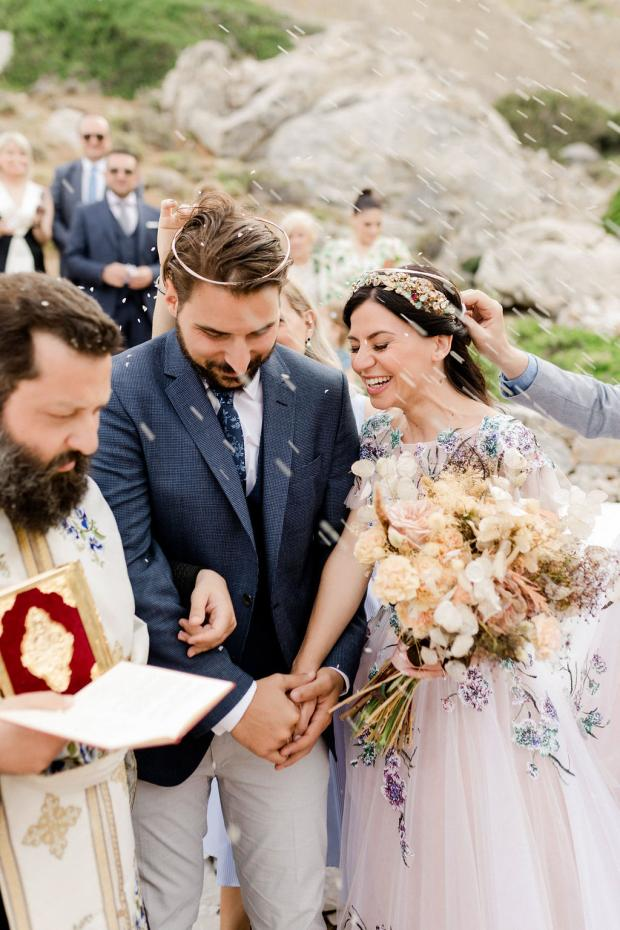 Chapel  wedding in Amorgos Greece