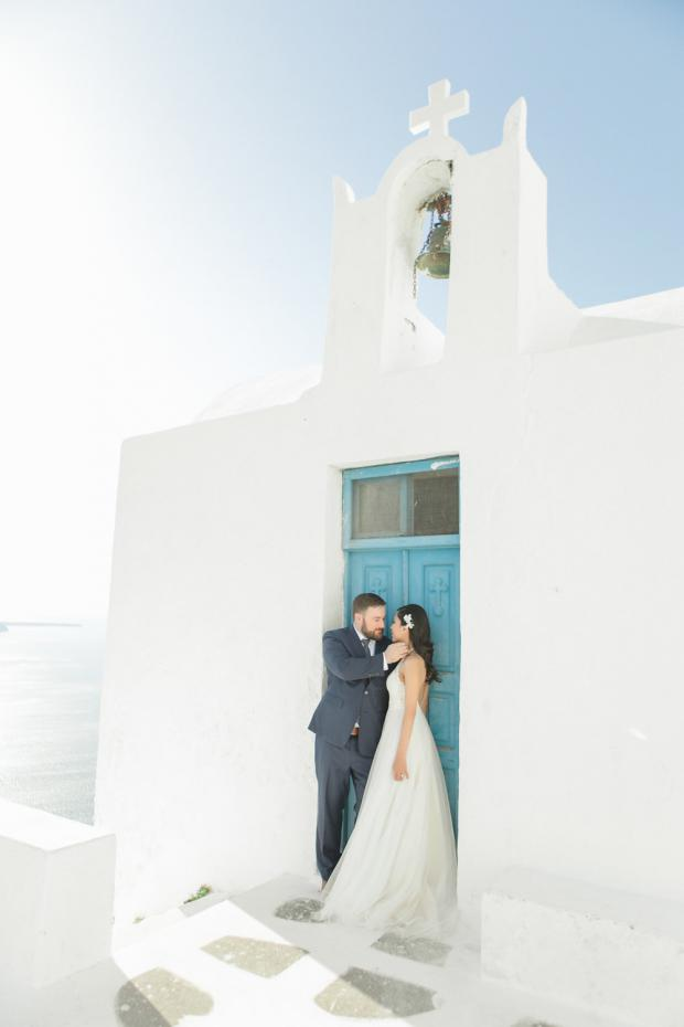 Destination wedding in Greece- Santorini