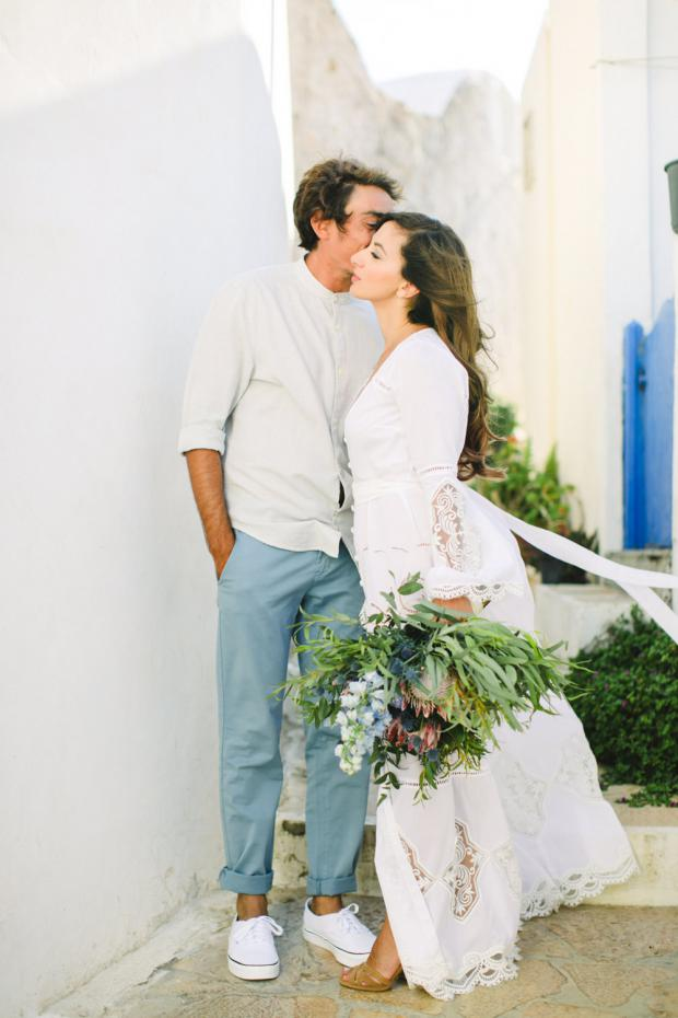 Sweet wedding moments- Tie the knot in Anafi, Greece