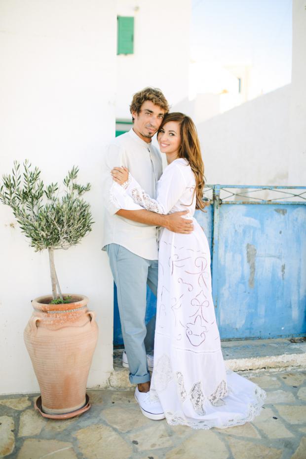 Wedding in Anafi, Greece