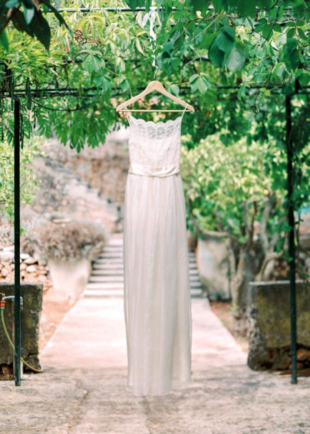 Wedding dress- Tuscany wedding