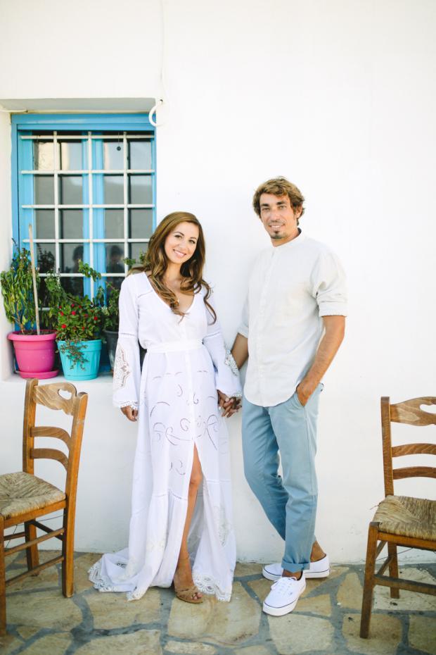 Destination wedding -Greek islands