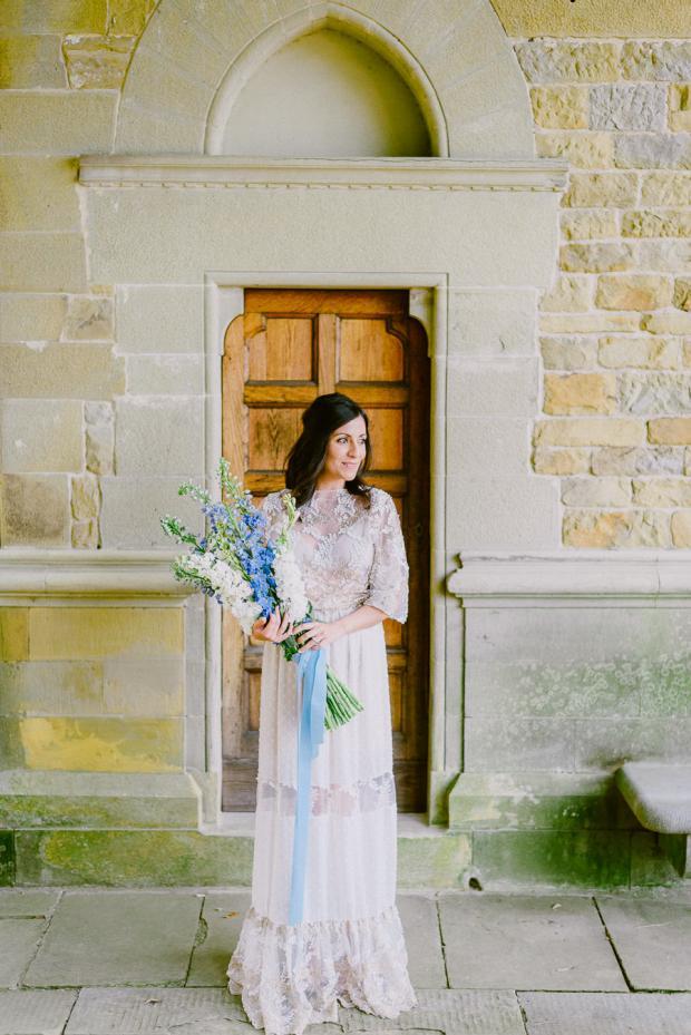 Bohemian wedding in Italy- bridal bouquet