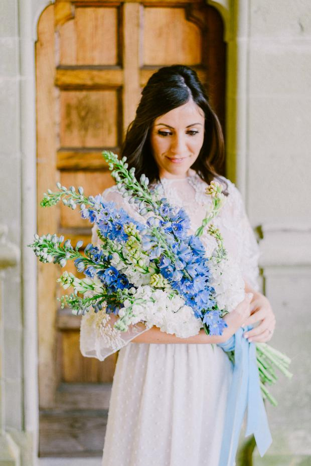Bohemian wedding in Italy- bridal bouquet
