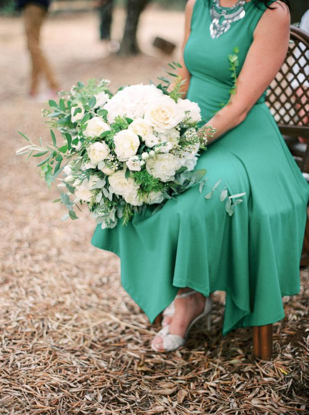 Bridesmaids bouquet- Greenery wedding