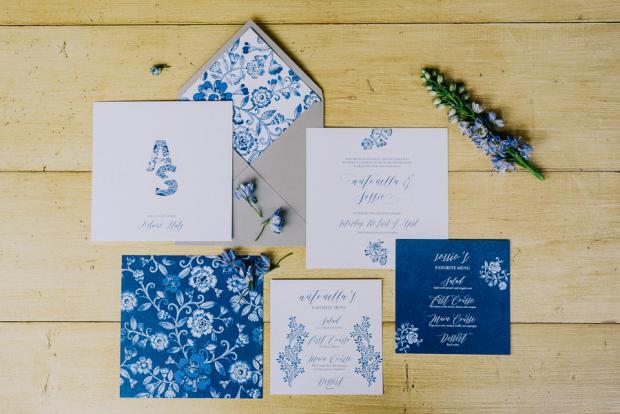 Wedding Stationery - Tuscany wedding
