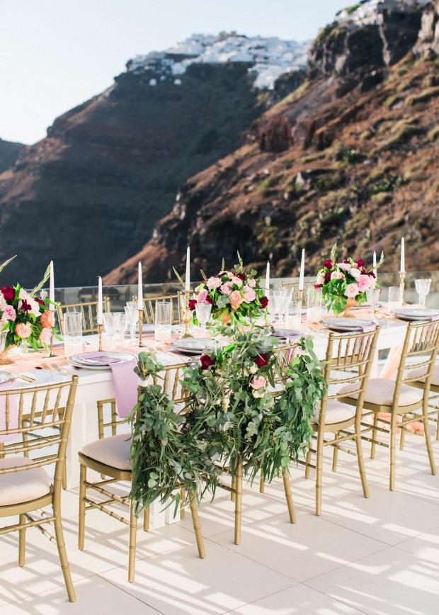 bride an groom chairs