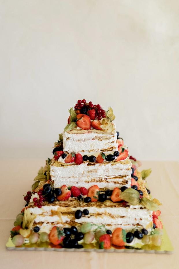 Milliefoglie  wedding cake