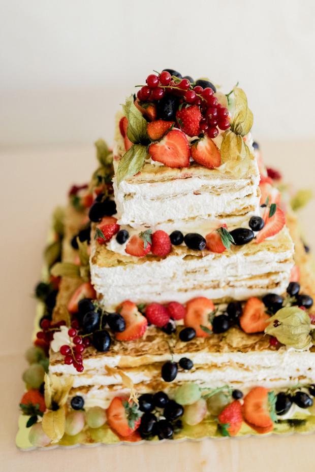 Milliefoglie  wedding cake
