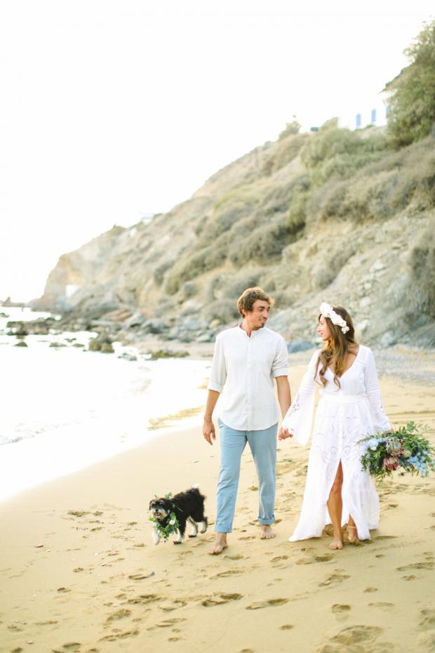 Surf destination wedding