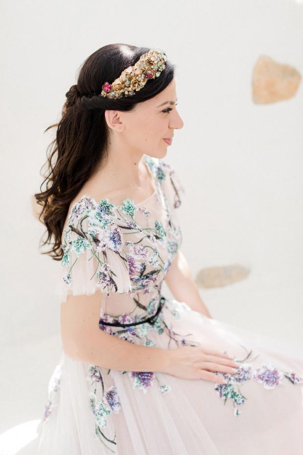 Bridal headpiece Savrani creations