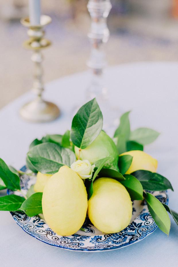 Wedding in Tuscany - lemons