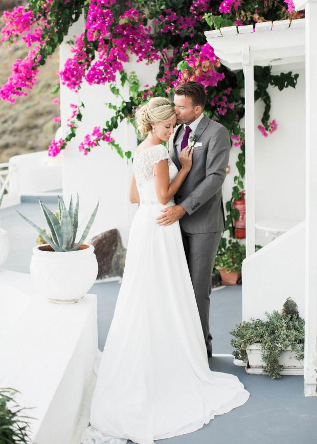 Wedding in Greece- Santorini