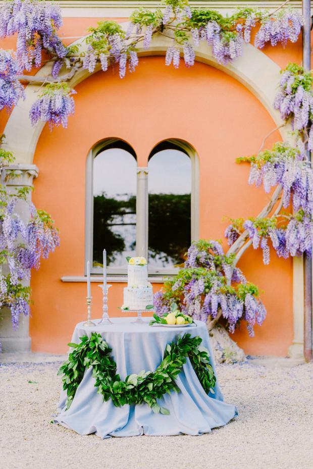 Dessert table- Tuscany wedding