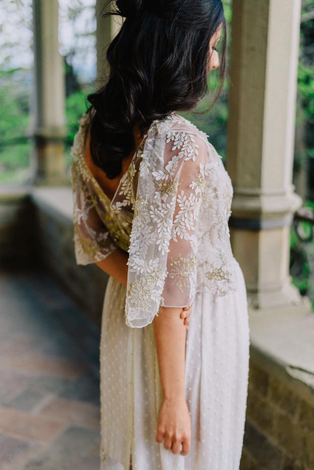Lace detail wedding dress- Nidodileda
