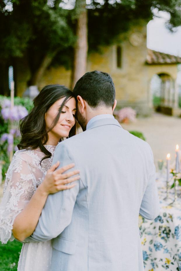 Romantic wedding in Tuscany, Italy