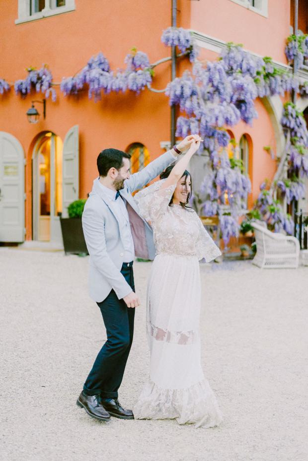 Bohemian wedding in Tuscany, Italy